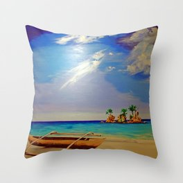 Willy's Rock   2012 Throw Pillow
