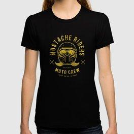 Mustache Riders Moto Crew T-shirt