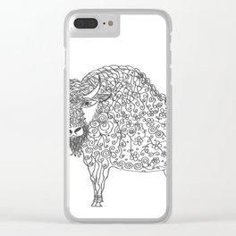 Buffalo Clear iPhone Case