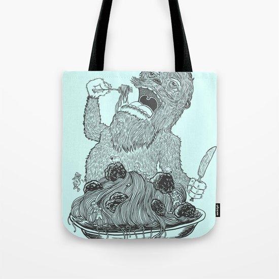 Yeti Spaghetti Tote Bag