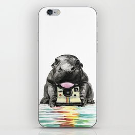 Baby Hippo iPhone Skin