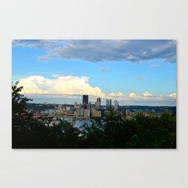 Pittsburgh - 3 Canvas Print
