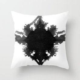 Rorschach || Throw Pillow