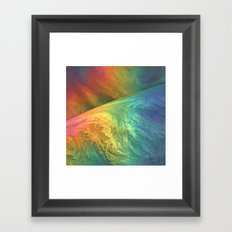 Color Storm Framed Art Print