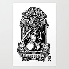 beholder Art Print