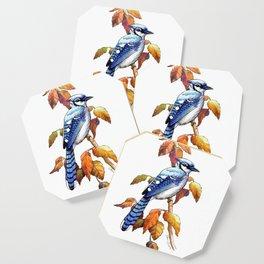 Bluebird in Autumn Coaster