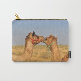 Animal love, Rajasthan, India Carry-All Pouch