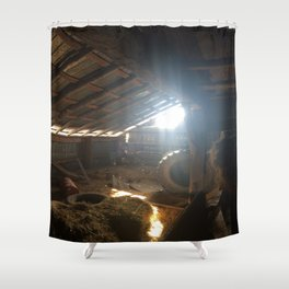 The Room Time Forgot Shower Curtain