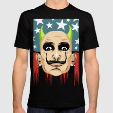 Smack My Paint Up Mens Fitted Tee MEDIUM Black