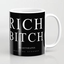 """Rich Bitch - """"Heartshapes"""" Merch Coffee Mug"""