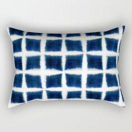 Shibori Blocks Rectangular Pillow