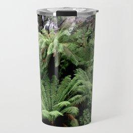 Ferns & Waterfall Travel Mug