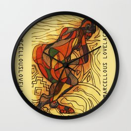 2011 walk out of your loop Wall Clock
