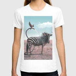 Heat Wave - Julien Tabet - Photoshop Artwork T-shirt