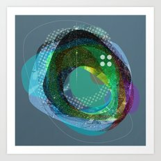 the abstract dream 10 Art Print