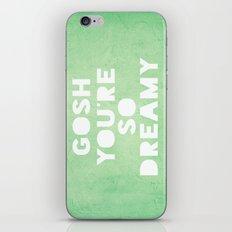 Gosh (Dreamy) iPhone & iPod Skin