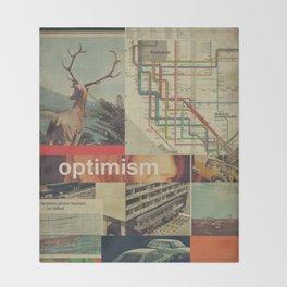 Optimism178 Throw Blanket