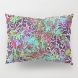 Grunge Art Floral Abstract G124 Pillow Sham