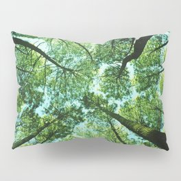Looking up in Woods Pillow Sham