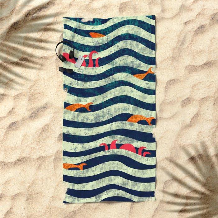 Sea roommate Beach Towel