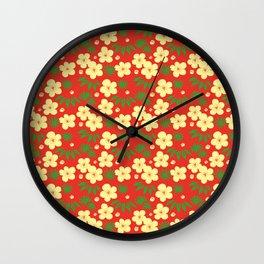 Shou chiku bai Wall Clock