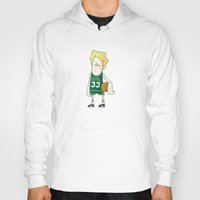 larry Hoodies featuring Larry Bird by frappeboy