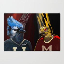 Lax Rivalry Canvas Print