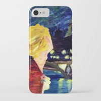 les mis iPhone & iPod Cases featuring Enjolras in Paris les mis by Pruoviare