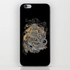 Octolady iPhone & iPod Skin