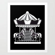 Merry Go 'Round, Part II Art Print