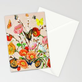 Butterfly Bouquet  Stationery Cards
