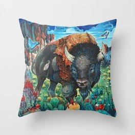 Roam Throw Pillow