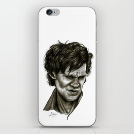 """Choices"" (Matt Smith/Doctor Who) iPhone Skin"
