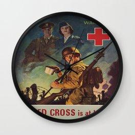 Vintage poster - War Fund Wall Clock