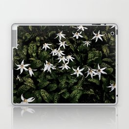 White Fawn Lilies; Open Your Heart Laptop & iPad Skin