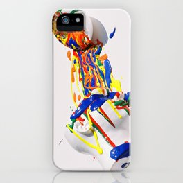 Mindful Explosion iPhone Case