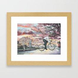 Bicycle Boy 09 Framed Art Print