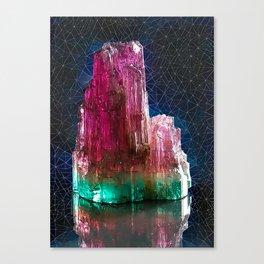 Bi-color Tourmaline Canvas Print