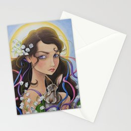 May - Lily of The Valley Stationery Cards