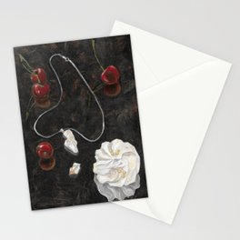 Red Cherries Stationery Cards