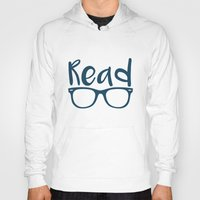 read Hoodies featuring Read  by E.A. Creative