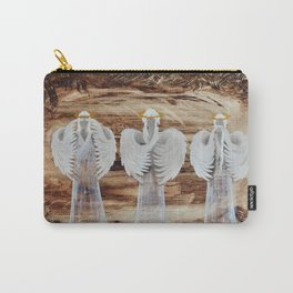 Angels - I can not see, hear, speak Carry-All Pouch
