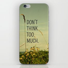 Travel Like A Bird Without a Care iPhone Skin