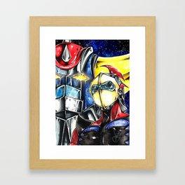 UFO Robo Grendizer Framed Art Print