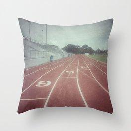 My Running Days Throw Pillow