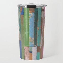 Maui Fence Hawaii Colorful Art Travel Mug