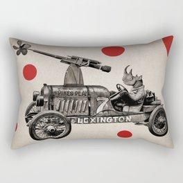 Anthropomorphic N°12 Rectangular Pillow