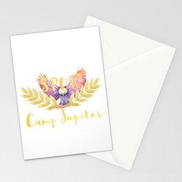 camp jupiter v1 Stationery Cards