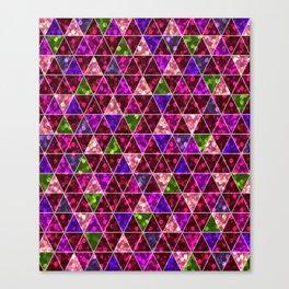 Bright glitter. Canvas Print