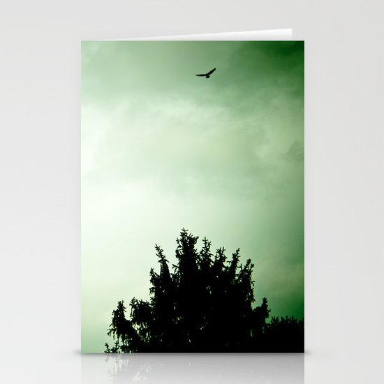 Storms a coming Stationery Cards